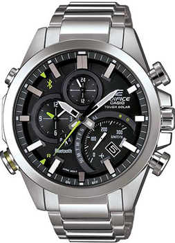 Casio Часы Casio EQB-500D-1A. Коллекция Edifice casio edifice eqb 501d 1a