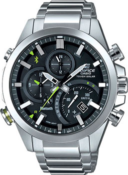 Casio Часы Casio EQB-501D-1A. Коллекция Edifice casio edifice eqb 501d 1a