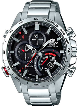 Casio Часы Casio EQB-501XD-1A. Коллекция Edifice casio edifice eqb 501d 1a