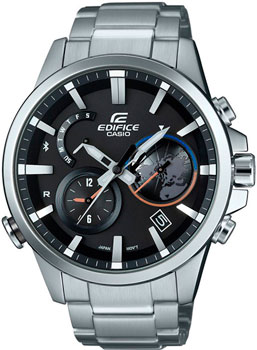 Casio Часы Casio EQB-600D-1A. Коллекция Edifice casio edifice eqb 501d 1a