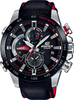 Casio Часы Casio EQB-800BL-1A. Коллекция Edifice casio edifice eqb 501d 1a