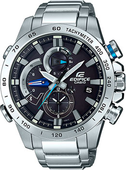 Casio Часы Casio EQB-800D-1A. Коллекция Edifice casio edifice eqb 501d 1a