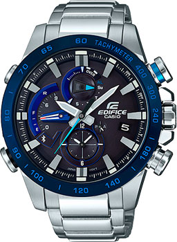 Casio Часы Casio EQB-800DB-1A. Коллекция Edifice casio edifice eqb 501d 1a