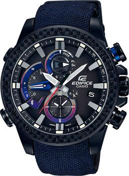 Casio Часы Casio EQB-800TR-1A. Коллекция Edifice casio edifice eqb 501xd 1a