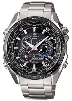 цена Casio Часы Casio EQS-500DB-1A1. Коллекция Edifice онлайн в 2017 году