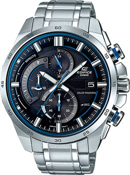 Casio Часы Casio EQS-600D-1A2. Коллекция Edifice мужские часы casio eqs a1000db 1a