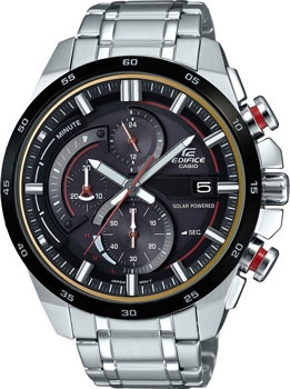 Casio Часы Casio EQS-600DB-1A4. Коллекция Edifice мужские часы casio eqs a1000db 1a