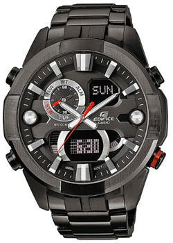 Casio Часы Casio ERA-201BK-1A. Коллекция Edifice casio edifice era 201bk 1a