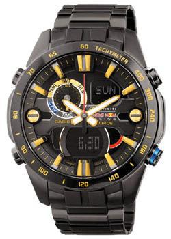 Casio Часы Casio ERA-201RBK-1A. Коллекция Edifice casio edifice era 201bk 1a