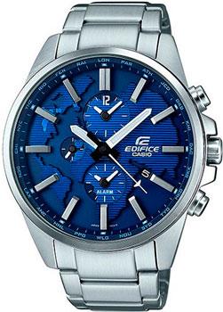 Casio Часы Casio ETD-300D-2A. Коллекция Edifice casio часы casio esk 300d 7a коллекция edifice