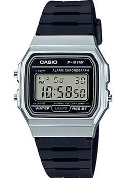 Casio Часы Casio F-91WM-7A. Коллекция Digital casio f 91w 3s