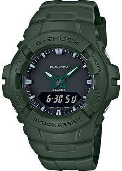 Casio Часы Casio G-100CU-3A. Коллекция G-Shock casio g shock g classic ga 110mb 1a