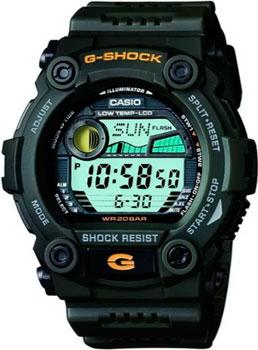 Casio Часы Casio G-7900-3D. Коллекция G-Shock casio g shock g classic ga 110mb 1a