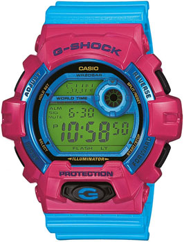 Casio Часы Casio G-8900SC-4E. Коллекция G-Shock casio g shock s series gmd s6900f 4e