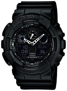 купить Casio Часы Casio GA-100-1A1. Коллекция G-Shock по цене 8790 рублей