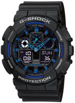 Casio Часы Casio GA-100-1A2. Коллекция G-Shock
