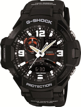Casio Часы Casio GA-1000-1A. Коллекция G-Shock casio ga 1000 2b