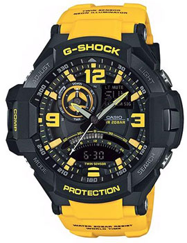 Casio Часы Casio GA-1000-9B. Коллекция G-Shock casio ga 1000 2b