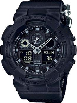 Casio Часы Casio GA-100BBN-1A. Коллекция G-Shock casio g shock ga 100bbn 1a