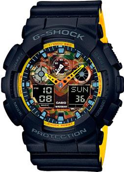 Casio Часы Casio GA-100BY-1A. Коллекция G-Shock casio g shock g classic ga 110mb 1a