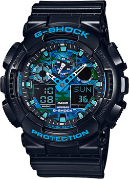 Casio Часы Casio GA-100CB-1A. Коллекция G-Shock casio ga 120bb 1a