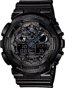 Casio Часы Casio GA-100CF-1A. Коллекция G-Shock casio g shock ga 100cf 1a9