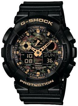 Casio Часы Casio GA-100CF-1A9. Коллекция G-Shock casio g shock ga 100cf 1a9