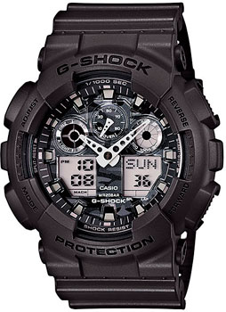 Casio Часы Casio GA-100CF-8A. Коллекция G-Shock casio g shock ga 100cf 1a9