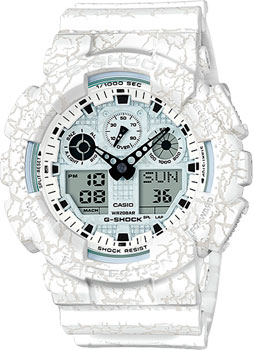 Casio Часы Casio GA-100CG-7A. Коллекция G-Shock цена и фото