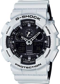 Casio Часы Casio GA-100L-7A. Коллекция G-Shock casio g shock g classic ga 110mb 1a