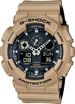 Casio Часы Casio GA-100L-8A. Коллекция G-Shock casio ga 100l 8a
