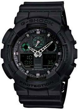 Casio Часы Casio GA-100MB-1A. Коллекция G-Shock casio часы casio ga 100bw 1a коллекция g shock