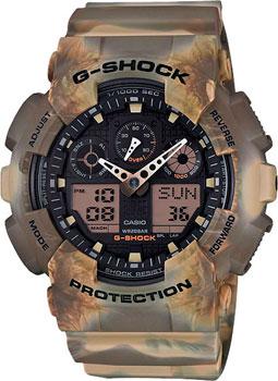 Casio Часы Casio GA-100MM-5A. Коллекция G-Shock casio ga 110br 5a