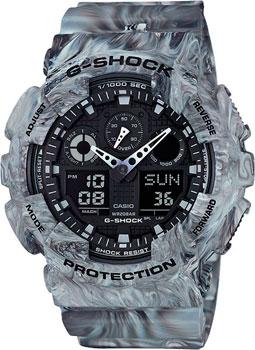 Casio Часы Casio GA-100MM-8A. Коллекция G-Shock casio g shock ga 100mm 8a