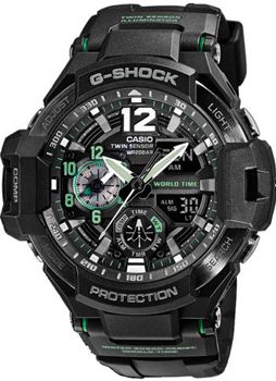 Casio Часы Casio GA-1100-1A3. Коллекция G-Shock casio ga 100c 1a3