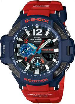 Casio Часы Casio GA-1100-2A. Коллекция G-Shock casio ga 1100 2a