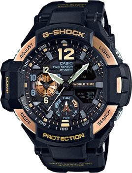 Casio Часы Casio GA-1100-9G. Коллекция G-Shock