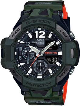 Casio Часы Casio GA-1100SC-3A. Коллекция G-Shock casio часы casio ga 110cm 3a коллекция g shock