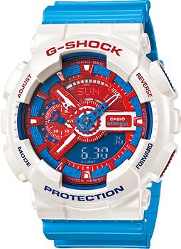 Casio Часы Casio GA-110AC-7A. Коллекция G-Shock