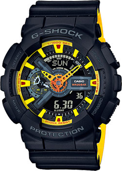 Casio Часы Casio GA-110BY-1A. Коллекция G-Shock casio g shock ga 110by 1a