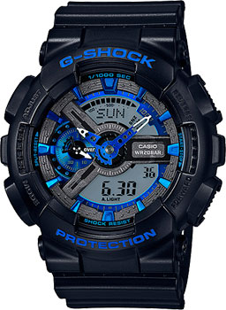 Casio Часы Casio GA-110CB-1A. Коллекция G-Shock casio ga 120bb 1a