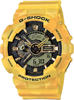 Casio Часы Casio GA-110CM-9A. Коллекция G-Shock casio ga 110ne 9a