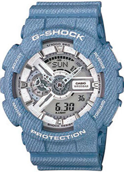 Casio Часы Casio GA-110DC-2A7. Коллекция G-Shock red fox футболка trail t ss женская 44 0504 розовый indian pink ss17