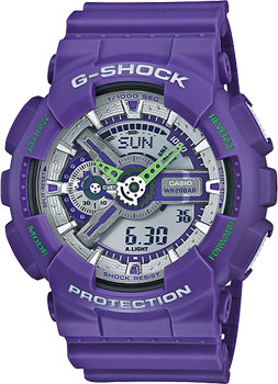 Casio Часы Casio GA-110DN-6A. Коллекция G-Shock casio часы casio gma s110mc 6a коллекция g shock