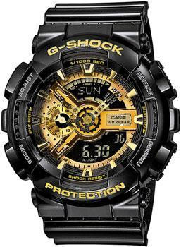 Casio Часы Casio GA-110GB-1A. Коллекция G-Shock часы casio g shock ga 110gb 1a