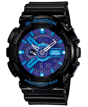 Casio Часы Casio GA-110HC-1A. Коллекция G-Shock casio g shock g classic ga 110mb 1a
