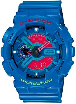 Casio Часы  GA-110HC-2A. Коллекция -Shock