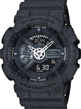 Casio Часы Casio GA-110HT-1A. Коллекция G-Shock casio ga 110hc 1a