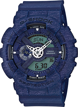 Casio Часы Casio GA-110HT-2A. Коллекция G-Shock casio g shock gn 1000b 1a