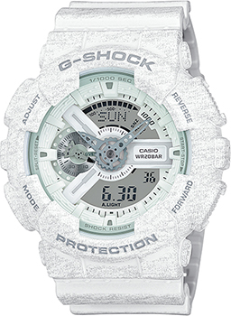 Casio Часы Casio GA-110HT-7A. Коллекция G-Shock casio g shock ga 110tx 7a